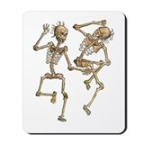 Dancing Skeletons Mousepad