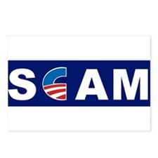 Scam, Anti Obama Postcards (Package of 8)