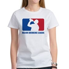 Major Drinking League Tee
