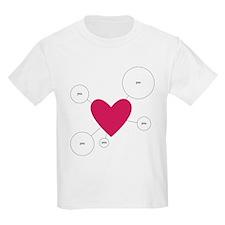 [heart] you T-Shirt