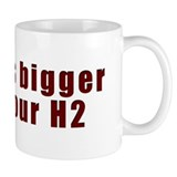 H8-BiggerThanH2 Coffee Mug