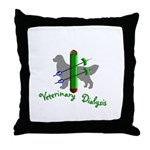 Veterinary Dialysis Throw Pillow
