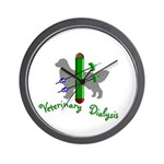 Veterinary Dialysis Wall Clock