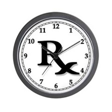 Pharmacy Clocks Wall Clock