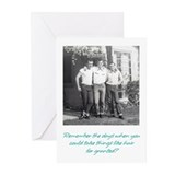 1950 birthday card Greeting Cards (20 Pack)