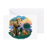 St Francis #2/ R Rback #2 Greeting Card