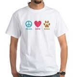 Peace Love Dogs Shirt