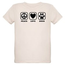 Peace Love Dogs [b/w] T-Shirt