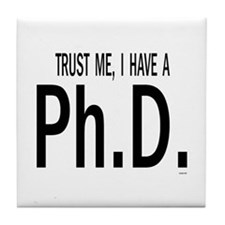 Phd Tile Coaster