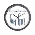 Love a Geek Wall Clock
