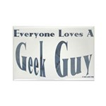 Love a Geek Rectangle Magnet (100 pack)
