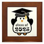 Penguin Class of 2025 Framed Tile