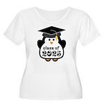 Penguin Class of 2025 Women's Plus Size Scoop Neck