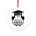 Penguin Class of 2026 Ornament (Round)