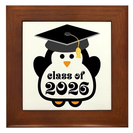 Penguin Class of 2026 Framed Tile