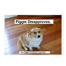 The Piggie Von Espie Postcard of Disapproval