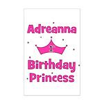 1st Birthday Princess Adreann Mini Poster Print