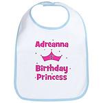 1st Birthday Princess Adreann Bib