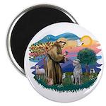 St Francis #2/ S Deer. #2 Magnet