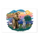 St Francis #2/ S Deer. #2 Postcards (Package of 8)