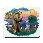 St Francis #2/ S Deer. #2 Mousepad