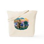 St Francis #2/ S Deer. #2 Tote Bag