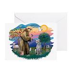 St Francis #2/ S Deer. #2 Greeting Card