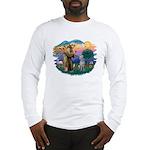 St Francis #2/ S Deer. #2 Long Sleeve T-Shirt