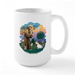 St Francis #2/ Sealyham T Large Mug