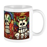 Day of the Dead Sugar Skulls Coffee Mug