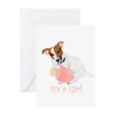 """JRT """"It's A Girl"""" Gifts Greeting Card"""