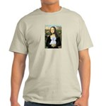 Mona Lisa / Maltese (B) Light T-Shirt