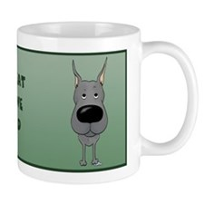 Blue Great Dane Dad Mug