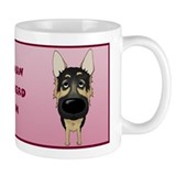 Big Nose German Shepherd Mom Mug