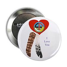 Indian Valentine's Day Button