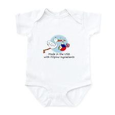 Stork Baby Philippines USA Onesie