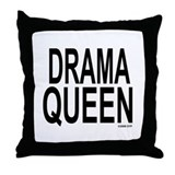 Cute Divalicous Throw Pillow