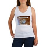 Piggie Von Espie's Women's Tank Top of Disapproval