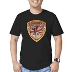 La Paz County Sheriff K9 Men's Fitted T-Shirt (dar