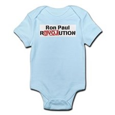 Unique Ron paul Infant Bodysuit