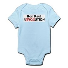 Ron Paul Revolution Large Banner Body Suit