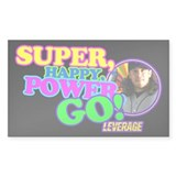 Super Happy Power Go Decal