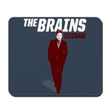 Leverage Brains Mousepad
