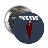 "Leverage Brains 2.25"" Button (10 pack)"