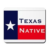 Cute Texas pride Mousepad
