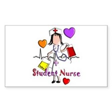 Student Nurse X Decal