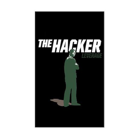 Leverage Hacker Sticker (Rectangle)