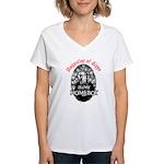 Augustine Homeboy Women's V-Neck T-Shirt