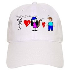 Bizzare Love Triangle-mathingy Baseball Cap