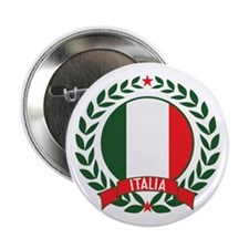 "Italy Wreath 2.25"" Button (10 pack)"